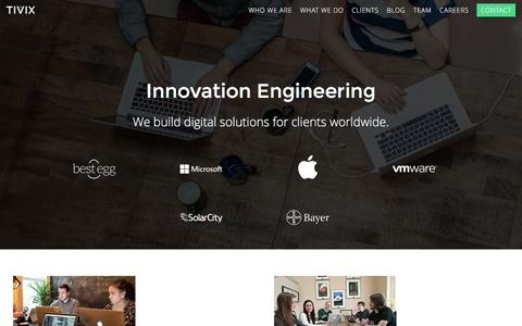 Custom Web and Mobile Applications | Tivix