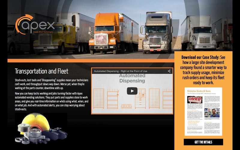 Transportation & Fleet  |  Apex Supply Chain Solutions