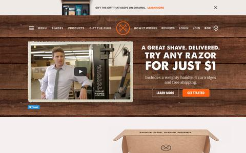 Shave Time. Shave Money. | Dollar Shave Club