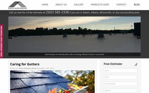 Roofing Salem Oregon Blog - Slate & Slate Roofing