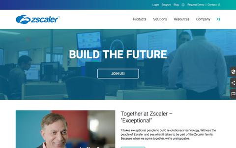 Join the Best Cloud Security Talent   Zscaler Careers