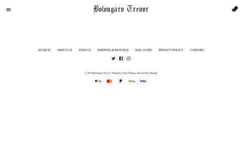 Screenshot of Home Page bolongarotrevor.com - Bolongaro Trevor - captured Aug. 17, 2018