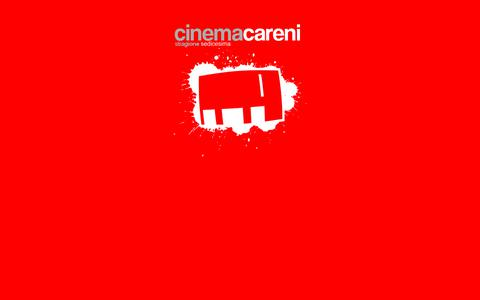 Screenshot of Home Page cinemacareni.it - Pieve di Soligo: Cinema Careni Pieve di Soligo - captured Oct. 4, 2018
