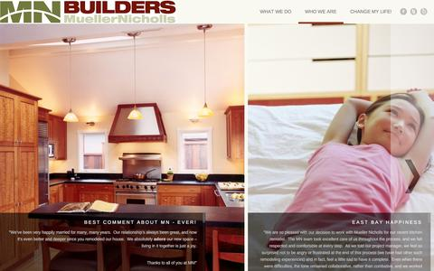 Screenshot of Testimonials Page mnbuild.com - Testimonials   MN Builders   Construction, Custom Cabinetry and Millwork   Residential and Commercial   San Francisco Bay Area - captured Feb. 14, 2016