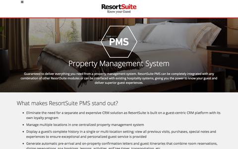 Property Management Software for Hotels and Resorts | ResortSuite