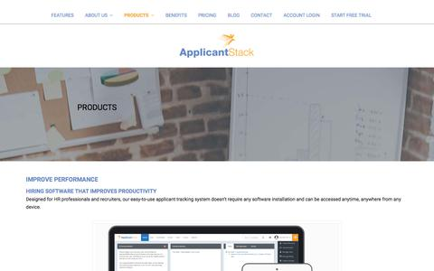 Our Products | ApplicantStack
