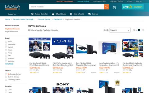 Buy Gaming Consoles Online | PS Vita | Lazada