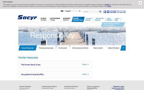 Screenshot of Team Page sacyr.es - Human resources - captured Dec. 5, 2016