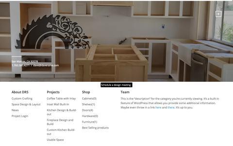 Screenshot of Team Page dyocore.com - Team Archives - David Raine Studio - captured Oct. 9, 2018