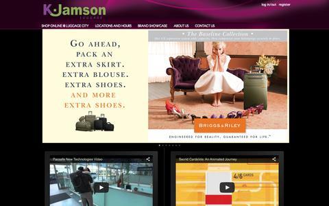 Screenshot of FAQ Page kjamson.com - K.Jamson - K.Jamson - captured Sept. 29, 2015