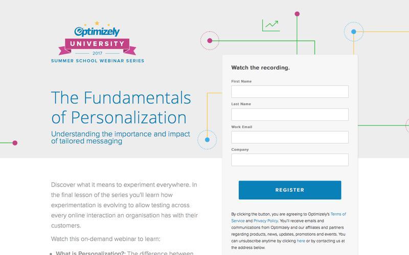 The Fundamentals of Personalization