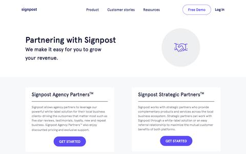 Partners | Signpost