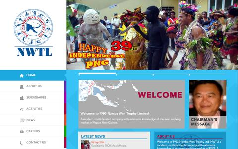 Screenshot of Press Page pngnwtl.com - News | PNG Nambawan Trophy Ltd. - captured Nov. 1, 2014
