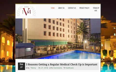 Screenshot of Home Page hotelvicusmajor.com - Hotelvicusmajor - Living and Relax - captured Oct. 28, 2018