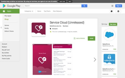 Service Cloud - Android Apps on Google Play