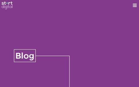 Screenshot of Blog startdigitalpublishing.com - Start Digital Publishing :: Blog - captured Dec. 2, 2016