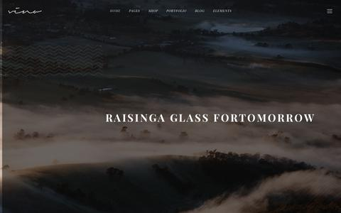 Screenshot of Home Page truenorthdesign.ca - Pacific Wine and Spirits Testing Site – Just another WordPress site - captured Sept. 29, 2017