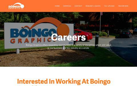 Screenshot of Jobs Page boingographics.com - Careers — Boingo Graphics - captured Jan. 4, 2018
