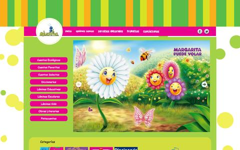 Screenshot of Home Page educativa.com.pe - Editorial Educativa Perú 2014 - captured Oct. 2, 2014