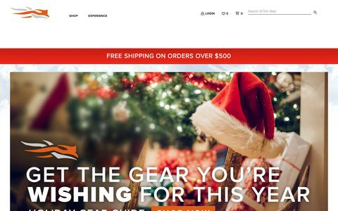 Screenshot of Home Page sitkagear.com - SITKA Gear Holiday Gear Guide - captured Dec. 3, 2016