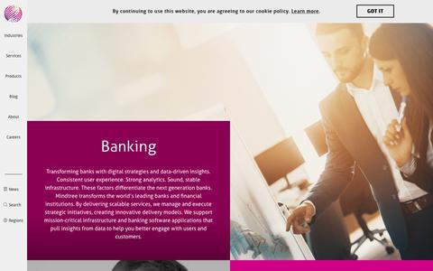 Banking | Mindtree