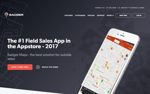 Badger Maps - Route Planner for Sales