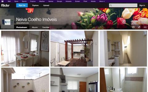 Screenshot of Flickr Page flickr.com - Flickr: neivacoelhoimoveis' Photostream - captured Nov. 5, 2014