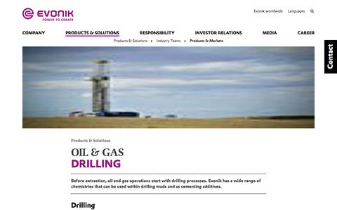 drilling - Evonik Industries AG