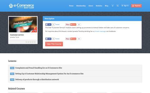 Screenshot of Support Page digitalfilipino.com - Customer service - DigitalFilipino E-Commerce Boot Camp by Janette Toral - captured Feb. 12, 2016