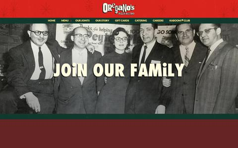 Screenshot of Jobs Page oreganos.com - Oregano's Restaurant Jobs - Are you Ready to Join the Oregano's Family? - captured Oct. 18, 2018