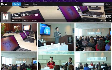 Screenshot of Flickr Page flickr.com - Flickr: LawTech Partners' Photostream - captured Oct. 22, 2014