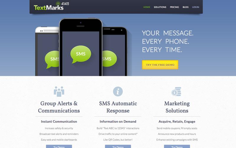 SMS Marketing for Business | Affordable Group SMS and Mass Text Messaging | Reliable Mobile Marketing Services | Bulk Text Messaging Platform | SMS API | TextMarks