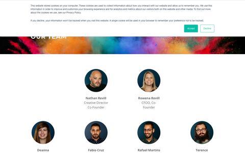 Screenshot of Team Page dorsetcreative.co.uk - Our Team - Dorset Creative | Digital Agency | Bournemouth | Poole | Dorset - captured Nov. 6, 2018