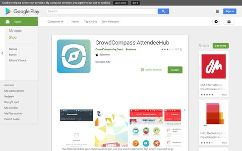CrowdCompass AttendeeHub - Apps on Google Play