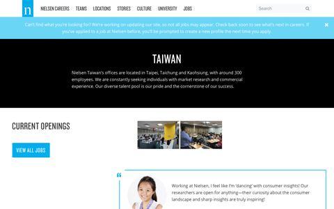 Taiwan – Nielsen Careers