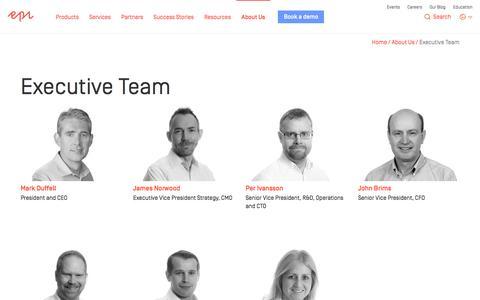 Executive Team - Epi