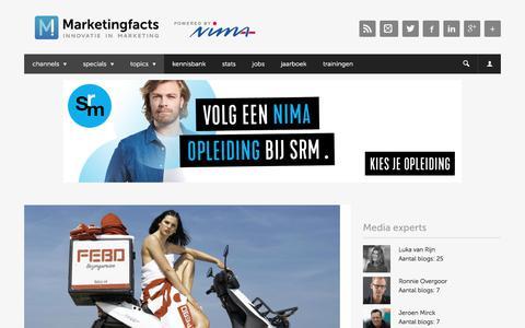 Screenshot of Press Page marketingfacts.nl - Media   Marketingfacts - captured Jan. 8, 2020
