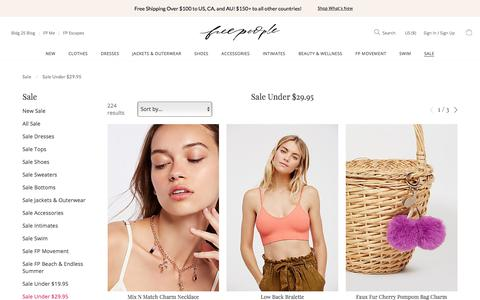 Women's Sale Clothes & More Under 30 | Free People