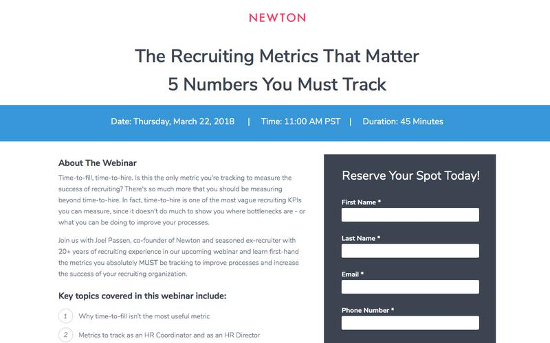 The Recruiting Metrics That Matter: 5 Numbers You Must Track