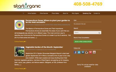Screenshot of Blog startorganic.org - Blog - StartOrganic - captured Oct. 1, 2014