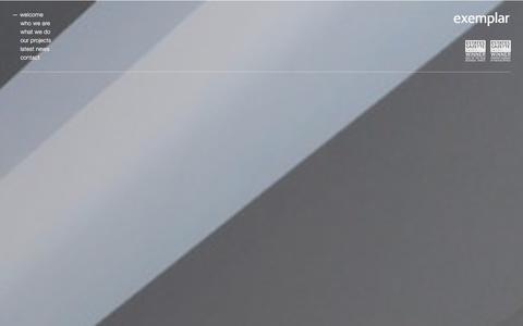 Screenshot of Home Page exemplar.co.uk - Exemplar - captured Jan. 31, 2016