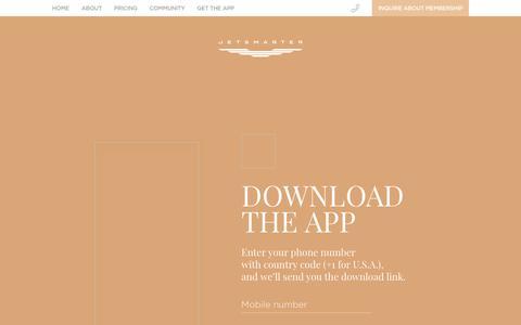 Download the app   JetSmarter