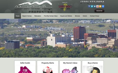 Screenshot of Home Page coloradospringsbesthomes.com - Colorado Springs Best Homes - We are your Colorado Springs Real Estate advocate. If you want to buy Colorado Springs Homes or sell Colorado Springs Houses, we will guide you every step of the way. - captured Nov. 9, 2016