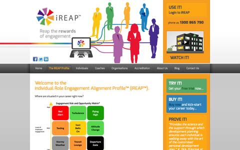 Screenshot of Trial Page ireap.com.au - Free Trial | Free Trial - captured Sept. 30, 2014