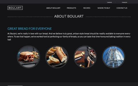 Screenshot of About Page boulart.com - About Boulart | Boulart - captured Sept. 30, 2014