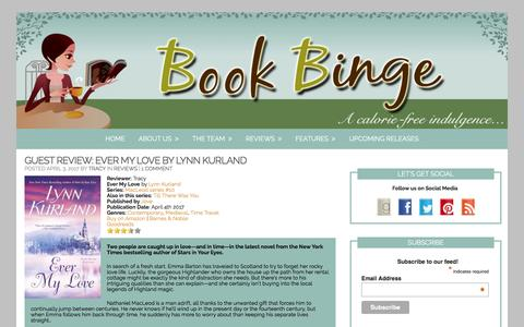 Book Binge – Page 2 – …a calorie-free indulgence
