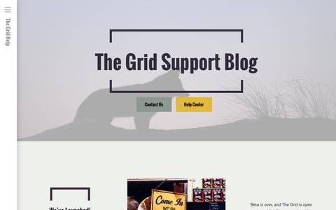 The Grid Support Blog