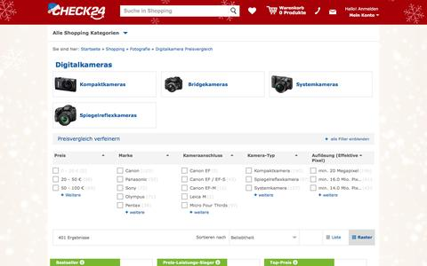 Digitalkamera günstig im CHECK24-Preisvergleich