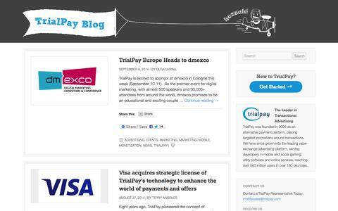 TrialPay Blog