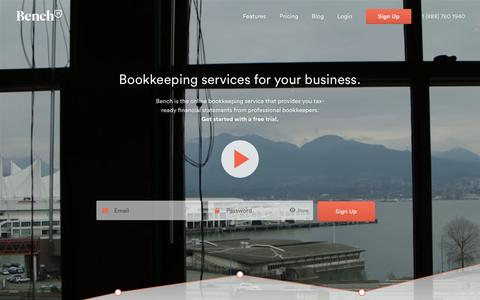 Bench — Bookkeeping Services for Your Business